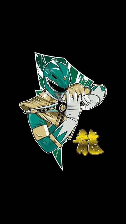 Ranger Power Rangers Wallpapers Mighty Morphin Dragonzord
