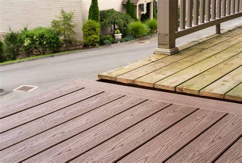 tips  choosing   composite decking decks