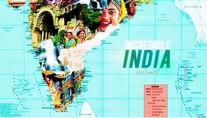 India Glimpse Territories Union States