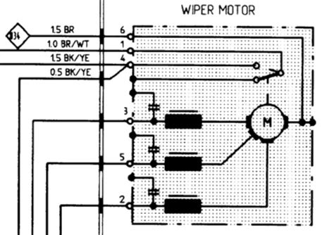 Porsche 944 Wiper Motor Wiring Diagram by Wiring Diagram Wiper Motor Impremedia Net