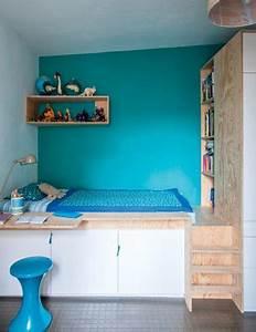 Chambre Fille Petit Espace : la chambre d 39 ado fille prend de la hauteur deco cool ~ Premium-room.com Idées de Décoration