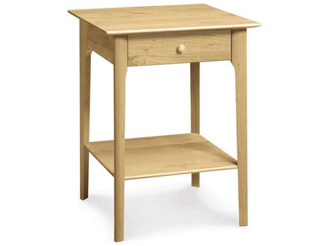 28 High Nightstand by Copeland Furniture 28 High One Drawer Nightstand