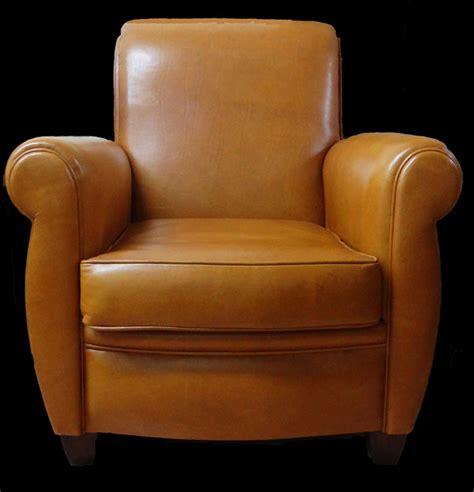 soldes fauteuil club london en cuir de vachette