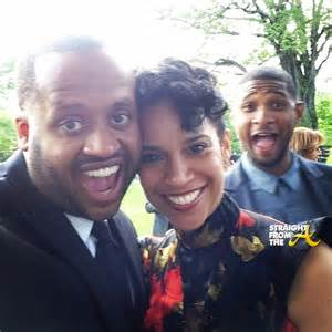 Usher Grace Miguel Wife