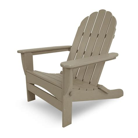polywood 174 classic oversized curved back adirondack chair