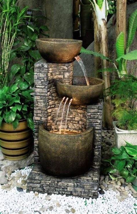 unique garden fountain designs beautifying    garden gardening backyard