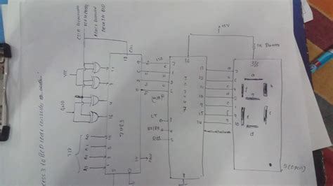 Circuit Diagram Excess Bcd Code Converter Display