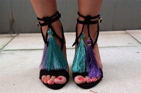 Tassel Wrap Sandals (inspired By Jimmy Choo)