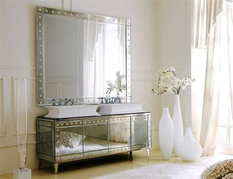 bathroom sink ideas for small bathroom mirrored bathroom vanity in 10 enchanting design ideas