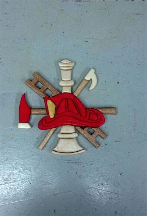 scrabble wood intarsia firefighter scramble scroll