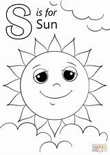 Coloring Sun Letter Sunshine Printable Letters Sheets Alphabet Preschool Preschoolers Colouring Spring Drawing Activities Worksheets Crafts Supercoloring Template Spider Getdrawings sketch template