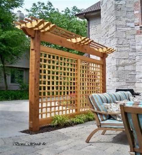 Backyard Trellis Ideas by Diy Backyard Pergola Trellis Ideas To Enhance The Outdoor