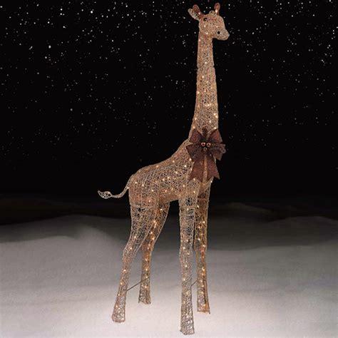 72 quot gold giraffe with 200 lights kmart
