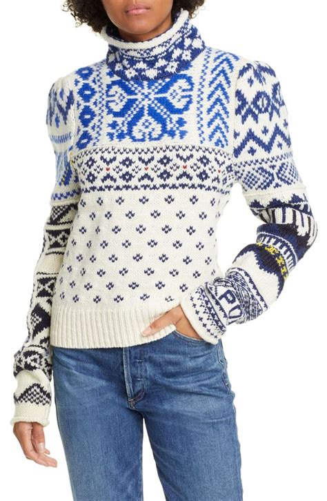 Also set sale alerts and shop exclusive offers only on shopstyle. Polo Ralph Lauren Turtleneck Nordic Sweater | Nordstrom ...