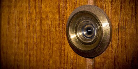 how to install a peephole in a door how to install a peephole groomed home