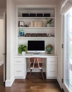 Collection, Inbuilt, Desk, Ideas, For, Small, Rooms, Small, Space, Office