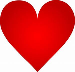 Clip Art Red Heart | Clipart Panda - Free Clipart Images