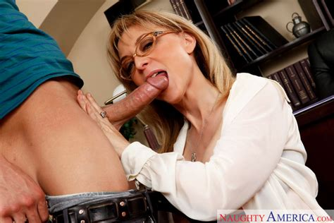 Nina Hartley And Xander Corvus In My First Sex Teacher