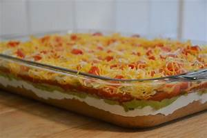 Much Ado About Somethin7 Layer Dip