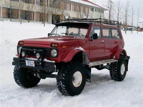 Custom Build Lada Niva In Iceland