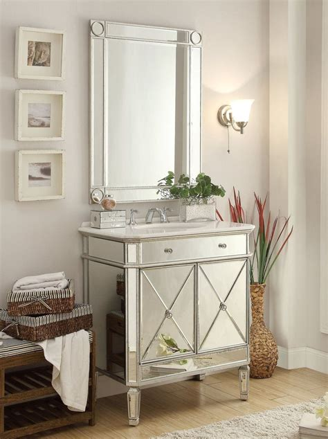 mirror reflection austell bathroom sink vanity