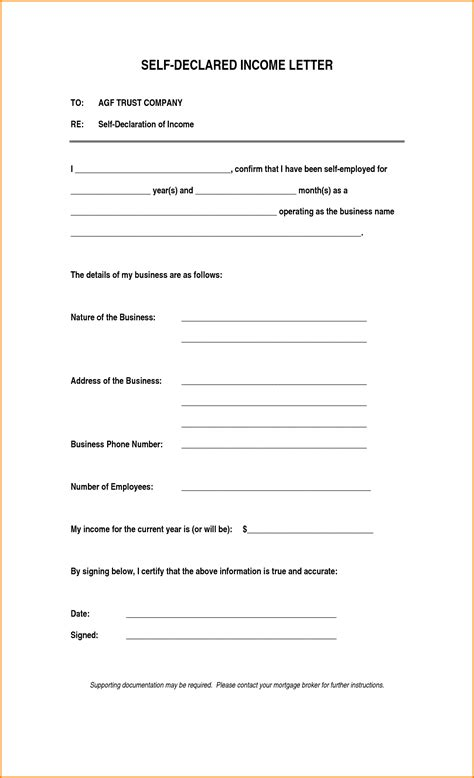 proof address template employment letters income letter