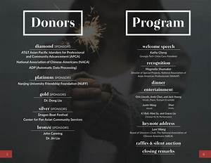 2015 Charity Dinner Program Booklet  U2013 Georgia Tech China Care