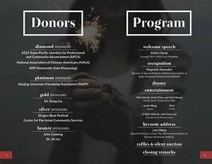 2015 Charity Dinner Program Booklet  U2013 Georgia Tech China Care