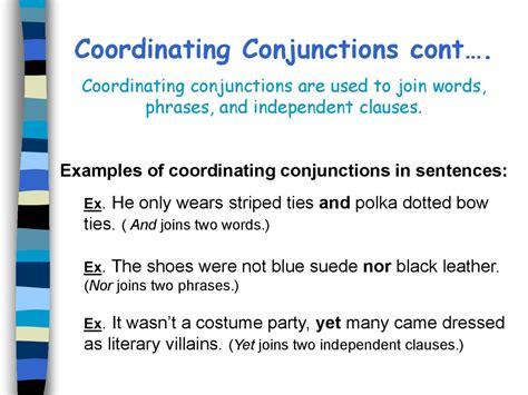 conjunctions table  contents prezentatsiya onlayn