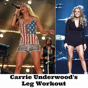 Carrie Underwood's Leg Workout | Running & Circuits ...
