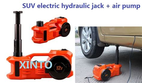 3ton 12v Dual Function Horizontal Type Electric Hydraulic