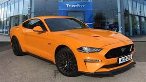 Ford MUSTANG 2019 - Orange Fury | £40,500 | Wilmslow | TrustFord
