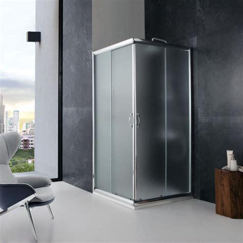 cabina doccia 70x70 box doccia 70x70 giada in cristallo opaco
