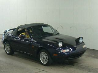 Roadster From Japan by Importing An Mx5 Eunos Roadster From Japan