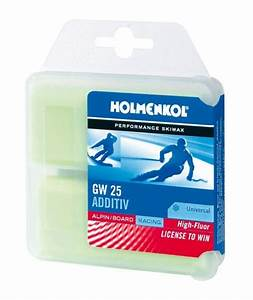 ski wax colour chart holmenkol additiv high fluor gw25