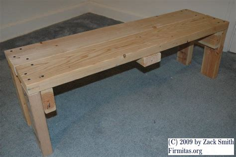 weight lifting bench plans plans diy   small