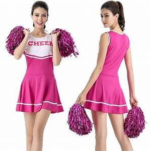 Disco Outfit 2017 : 2017 new sexy high school cheerleader costume cheer girls cheerleading uniform party outfit in ~ Frokenaadalensverden.com Haus und Dekorationen