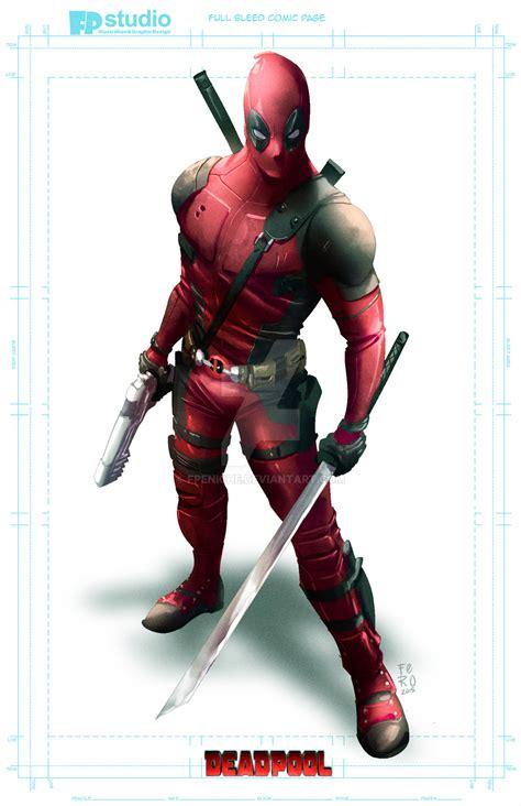 Deadpool  By Fernando Peniche