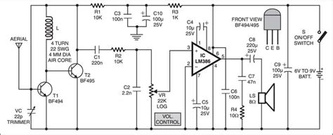 Simple Receiver Electronics Circuit With Full Explanation