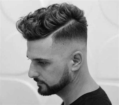 curly hairstyle  men bentalasaloncom