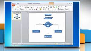 How To Make A Flow Chart In Powerpoint 2010