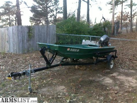 Cajun Bass Boat Accessories by Armslist For Sale Trade 14ft Cajun Special Flatbottom