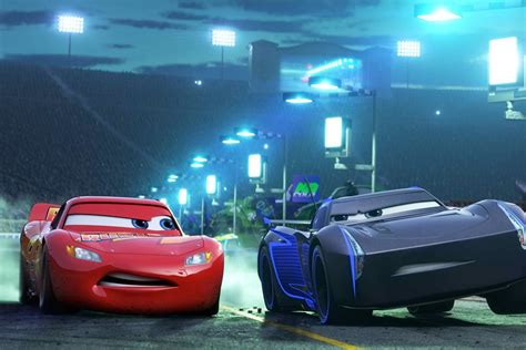 cars jackson cars 3 gets back to what made the franchise adequate vox