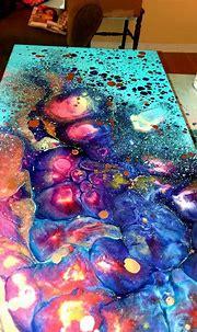 Iveta Horvath resin artwork | Resin art painting, Resin ...