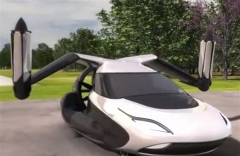 Future Flying Cars Cartoon
