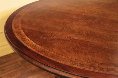 64 Round Casual Mahogany Kitchen Table Pedestal Dining Table