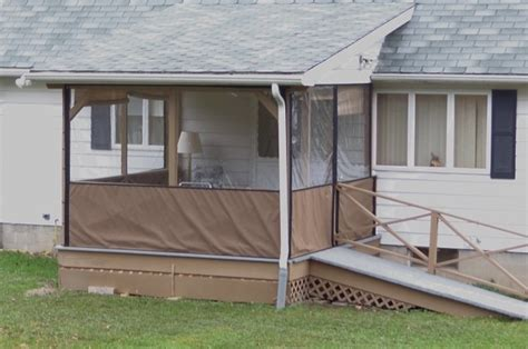 Clear Plastic Patio Walls - clear plastic porch panels screen porch to block wind