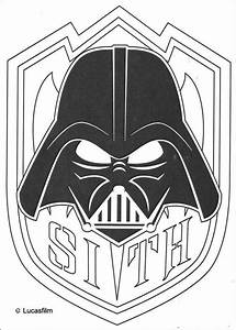 Mask of darth vader coloring pages - Hellokids.com