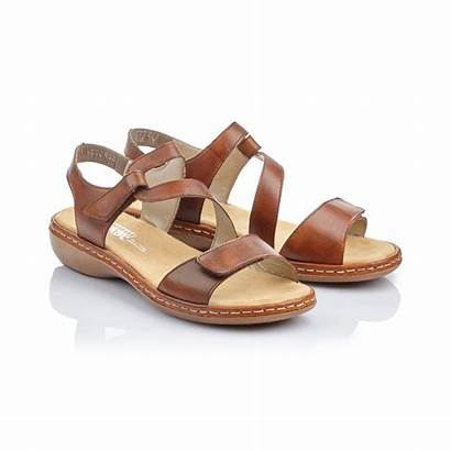 Sandals Rieker Brown R24