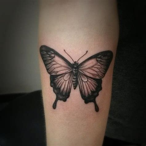 butterfly tattoo sasha roussel black gold tattoo